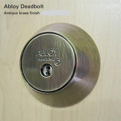 install deadbolts